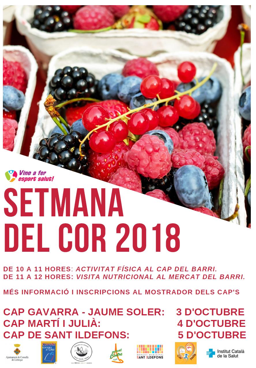 Setmana del Cor Cornellà 2018
